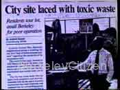 1992 newspaper article: City site laced with toxic waste