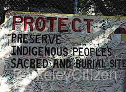 protect burial sites
